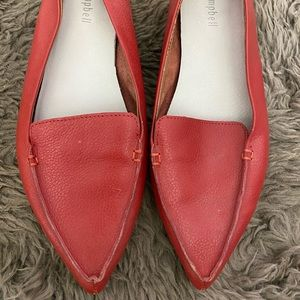 Jeffrey Campbell red pointed flats